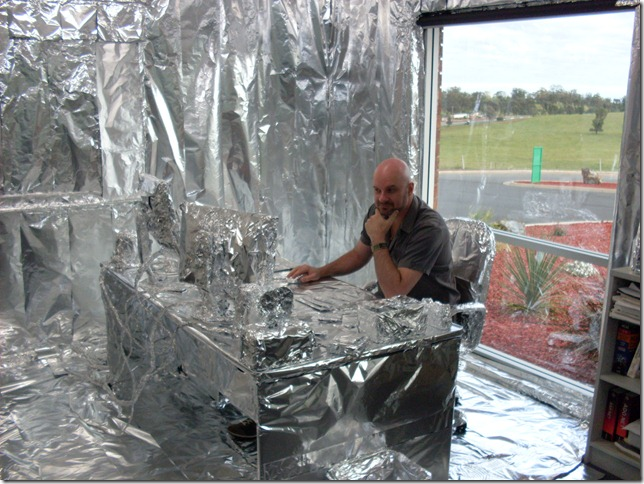 Foiled Office